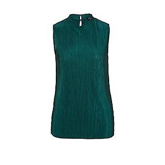 s.Oliver BLACK LABEL 150.10.005.12.130.2040445 T-Shirt, Dark Oil, 48 Woman
