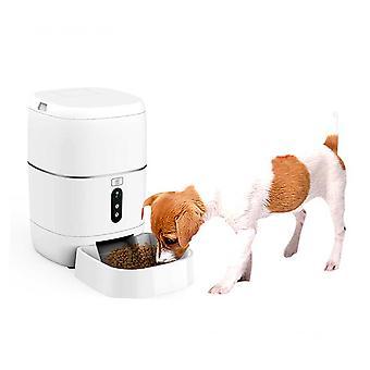 מאכיל מזון חכם PNI MyPet PT033PF עבור חיות מחמד, WiFi, 3 ליטר, לתכנות מן היישום הייעודי Tuya חכם, אינטגרציה בתרחישים אוטומציה חכמה עם מוצרים תואמים אחרים Tuya