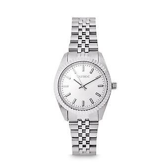 Tayroc launton silver 31mm analog watch