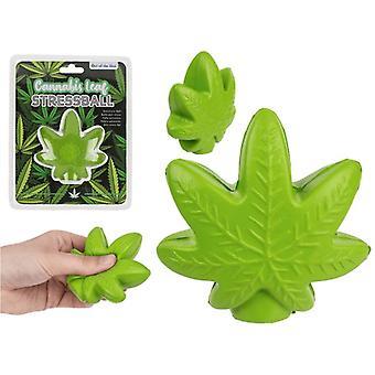 Squeeze Relax Leaf Blade Joke Clamp Ball Stress Ball 7cm