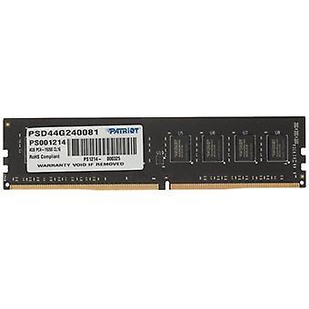 Patriot Signature Line 4GB Bez chladiče (1 x 4 GB) Systémová paměť DDR4 2400MHz DIMM