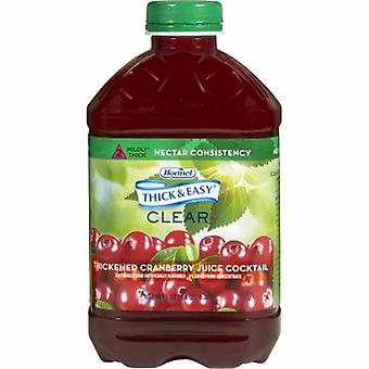 Hormel Thickened Beverage Thick & Easy 46 oz. Container Bottle Cranberry Juice Cocktail Flavor Ready to Us, 1 Each