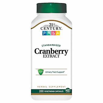 21st Century Cranberry Extract Standardized, 200 Veg Caps