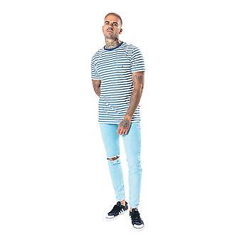 Hype Mens Striped T-Shirt