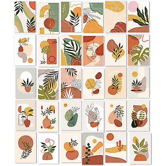Leuyuan 30 Pcs Ins Aesthetic Pictures Wall Collage Kit