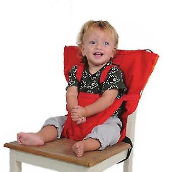Extra Large Booster Chair Cover,dining Chair Seat Protector Cover For Booster Seat(RED)