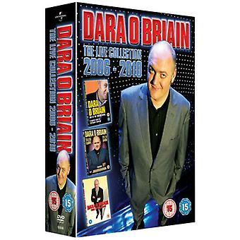 Dara OBriain Live Collection DVD (2011) Dara OBriain cert 15 3 discos Região 2