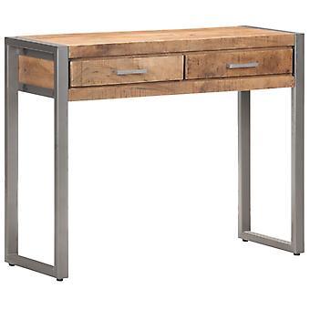 vidaXL console table 95x35x75 cm solid wood mango