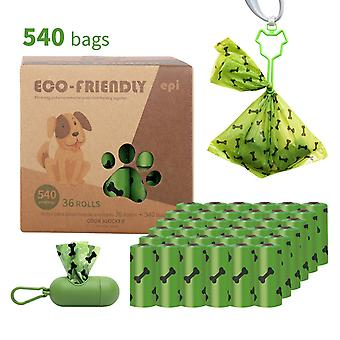 في الهواء الطلق النفايات الكلب حقيبة حماية البيئة كيس كيس سيارة الحيوانات الأليفة كيس القمامة مع موزع الكلب