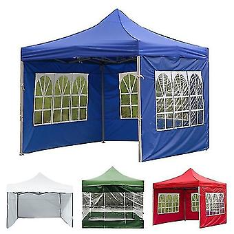 Nová vonkajšia párty nepremokavé oxfordské látkové stany Altánok Príslušenstvo Rainproof Canopy Cover (modrá)