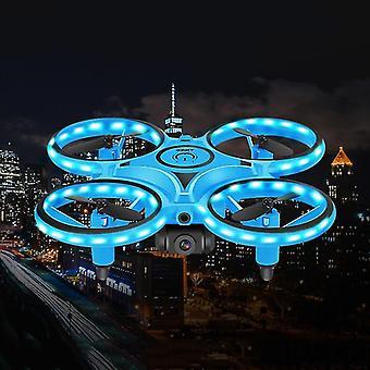 Mini Infrapuna RC Drone Quadcopter ele induktio Quadracopter Kaukosäädin Lelut| RC-nelikopteri