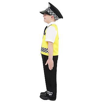 Costume della polizia, nero (medio)
