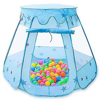 Детская палатка, большие складные детские игрушки (синий)