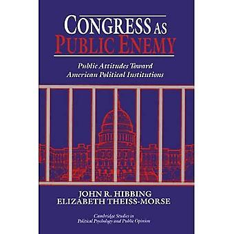 Congress as Public Enemy: Public Attitudes Toward American Political Institutions