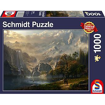 Waterfall 1000 Piece Jigsaw Puzzle
