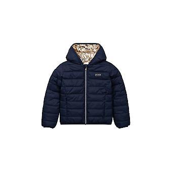 Boss Junior Reversible Puffa Jacket