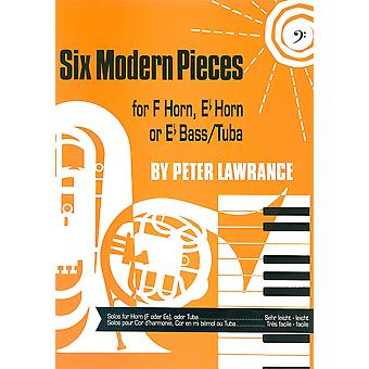 Six Modern Pieces Eb Bass/Tuba Bass Clef (tuba/Eb Bass)