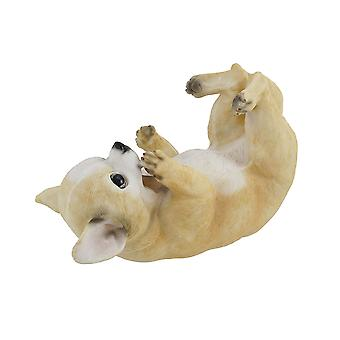 Chihuahua Dog Tabletop Single Wine Bottle Holder Display