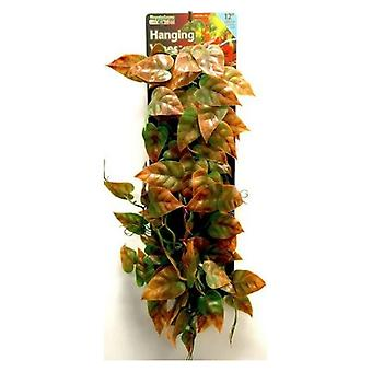"""Reptology Reptile Hanging Vine Green and Brown - 12"""" Long"""