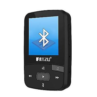 נגני Mp3 נגן Bluetooth mp3 8gb קליפ עם מסך שחור