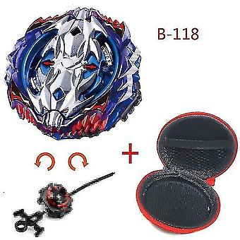Spinning tops 5 beyblade burst sparking turbo b48 launcher  metal top gyro blade blade spinning fight toys b118