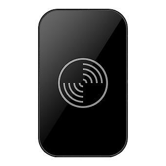 Mini Chargeur Qi sans fil universel Meubles Table de bureau monté Pad de charge rapide pour téléphones intelligents (noir)