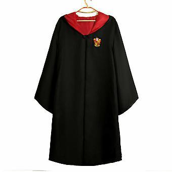 Harry Potter Magic Robe Wizard Cape Cloak Cosplay Costum Fancy Dress