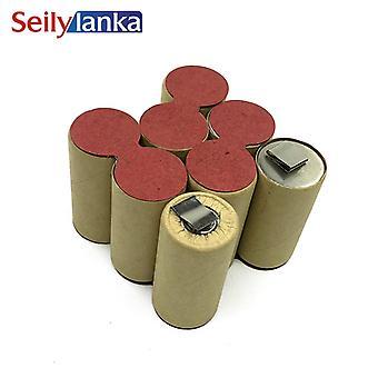 Batterie 9.6v 3000mah Ni-mh Pour Wurth Bs96-a Solid Sd96 0700980220
