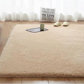 Tappeto di lana di agnello domestico per soggiorno e camera da letto, tappetino yoga computer, morbido tappeto interno soffice Shag Fur Area, confortevole antiscivolo