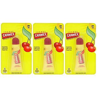 Carmex 3 x Moisturizing Lip Balm Cherry