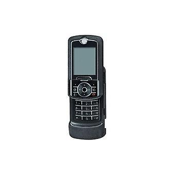 Kroppen handske Snap-on fallet för Motorola RIZR Z6tv, ROKR Z6, Z6m (svart)