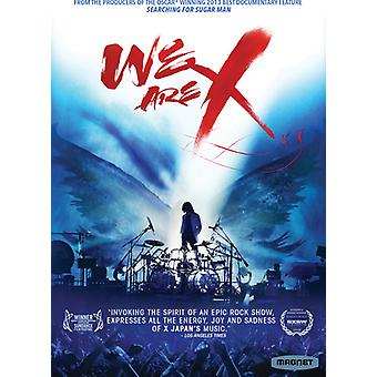 We Are X [DVD] USA import