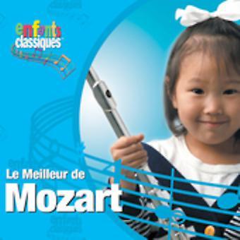 Enfants Classiques - Enfants Classiques: Le Meilleur De Mozart [CD] USA import