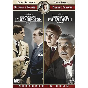 Sherlock Holmes Double Feature [DVD] USA import