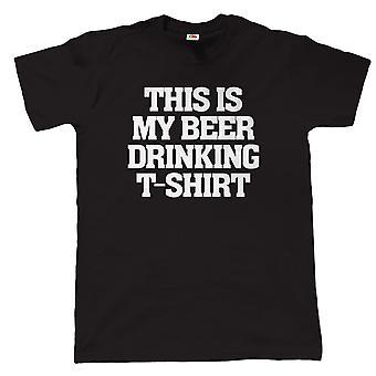 Esta é a minha camisa de beber cerveja - Presente para o aniversário do pai CAMRA Real Ale