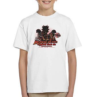 Indiana Jones Blood Of Kali Mystical Black Ale Temple Of Doom Kid's T-Shirt