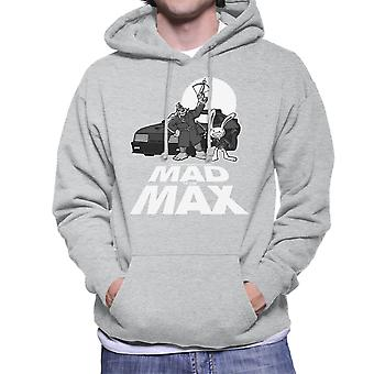 Mad To The Max Sam And Max Men's Hooded Sweatshirt