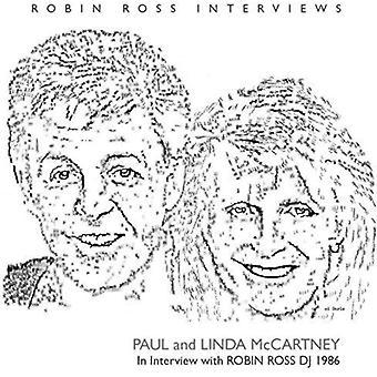 Paul McCartney & Linda - Interview by Robin Ross 1986 [CD] USA import