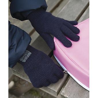 結果ジュニア裏地シンサレート手袋 R147J