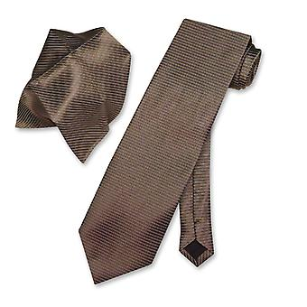 Antonio Ricci cravată cravată w/argint reiat linii cravată set