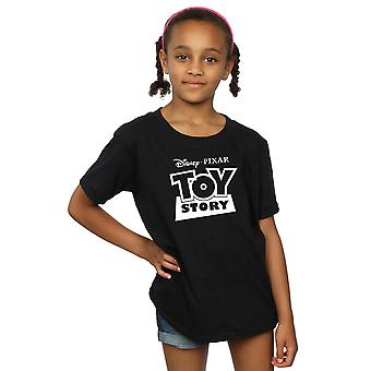 Disney Girls Toy Story Logo contour T-Shirt