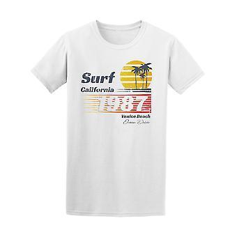 Kalifornian Surf Retro 1987 Venice Beach Tee - kuva: Shutterstock