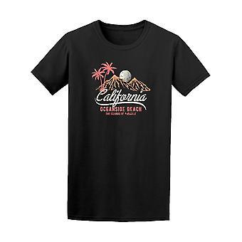 California Oceanside Beach T-Shirt Herren-Bild von Shutterstock