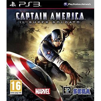 Captain America Super Soldier (PS3)-fabriek verzegeld