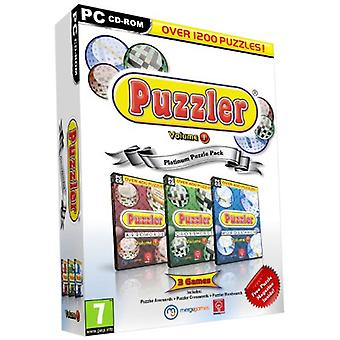 Puzzler Pack-pijlpunten Crosswords en WordSearch (PC DVD)-fabriek verzegeld