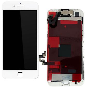 Apple iPhone 8 4.7 tuuma kaikki yksi näyttö LCD yksikkö kosketusnäyttö valkoinen valmiiksi koottu (ei HB)