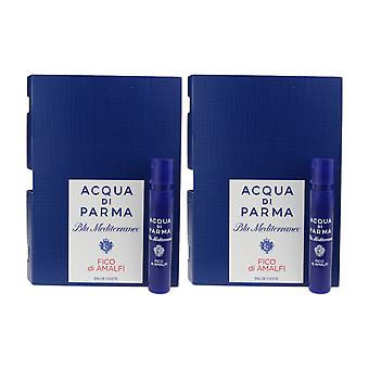 Acqua Di Parma 'Blu Mediterraneo Fico Di Amalfi' EDT 0.04oz/1.2ml ( Pack OF 2)