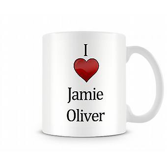Uwielbiam Jamie Oliver drukowanych kubek