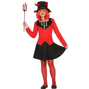 Costume da diavolo costumi per bambini per ragazze