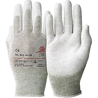 KCL Camapur Comfort Antistatik 625 Poliammide Protettivo guanto Dimensioni (guanti): 10, XL EN 16350:2014-07 CAT II 1 Coppia